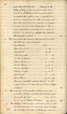 James Millars Inventory 1838 Part 3 of 5