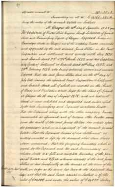 James Millars Inventory 1838 Part 2 of 5