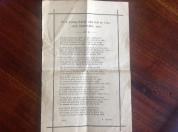 1915 Poem for Hugh Boyle, Auchentibber