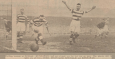 1935 Blantyre Vics vrs Parkhead Football Club 9th Feb.