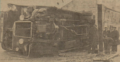 1935 bus crash at Glasgow road
