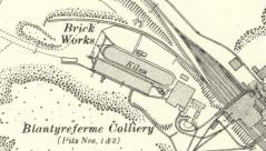 1936 Brickworks at Blantyreferme