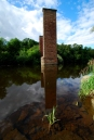 Craighead Viaduct Central Pier. Photo by Jim Brown
