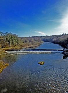 2015 Blantyre Weir - by Robert Stewart