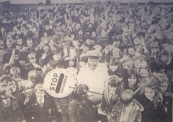 1973 Charles Harvey Lollipop Man at St Blanes (PV)