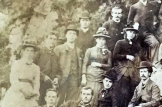 Blantyre Group Sunday outing to Louden Hill. 1886