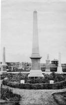 1904 Dixons Obelisk in High Blantyre Cemetery