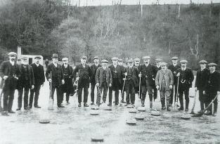 1912 Curling pond at Cocksburn