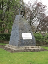 Blantyre monument to pit disaster