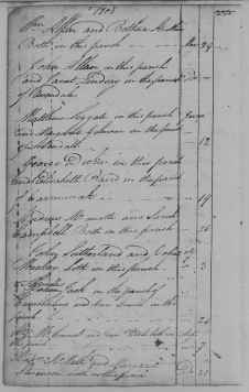 Banns 12 June 1808 Matthew Leggat and Margaret Gilmour at Eastkilbride