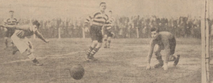 1934 Broughty vrs Blantyre Vics at Blantyre