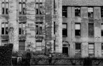 1910 Calderwood Castle, side elevation