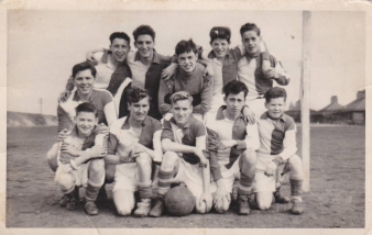 1950's St Cuthberts Football Team