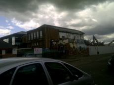 2010 Demolition of Calder Street School