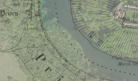 Overlaid 1898 / 2014 map