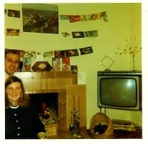 Janet and Joe Veverka 1970 at Stonefield Cresc (PV)