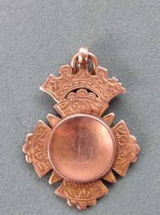 1909 Thomas Denholm Curling medal