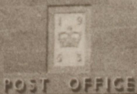 1953 P O close up