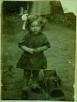 1925 Helen Jane Massey at Govan Street, Dixons Rows. Shared by Nancy Kvamsdal