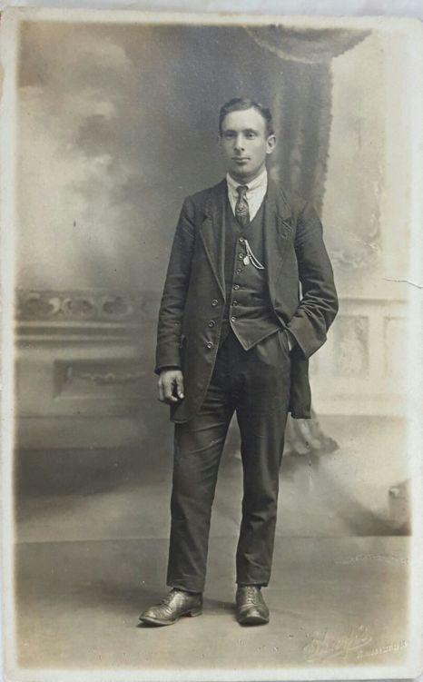 1918 Robert Nimmo shared by Jane Davies