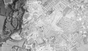 1971 Blantyre Aerial Photo