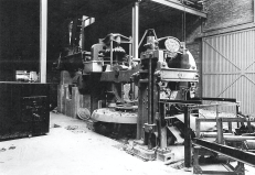 1955 Machinery inside Blantyreferme (Haughhead) Brickworks