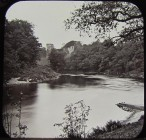 1870s? Ferry Crossing (Glass Plate - GC)