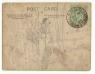 Back of 1905 Postcard