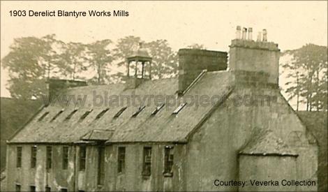 1903 Derelict Works Mill Belltower