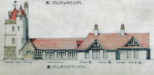 1908 runner up Blantyre Cottage Hospital
