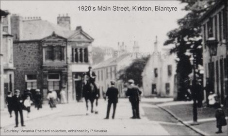 1920s Main Street HIgh Blantyre Kirkton
