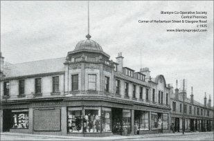 1925 Central Co-op Premises Hebertson St & Glasgow Rd