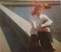 1970s Janette McCallum at Stonefield Public Park