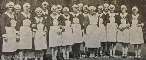 1929 Girls at Auchinraith Domestic Training Centre