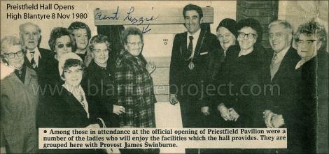 1980 Priestfield Hall opens wm