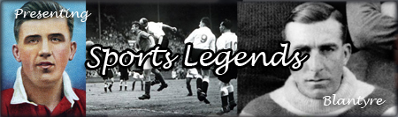 Explore Blantyre's sporting legends exclusive to Blantyre Project