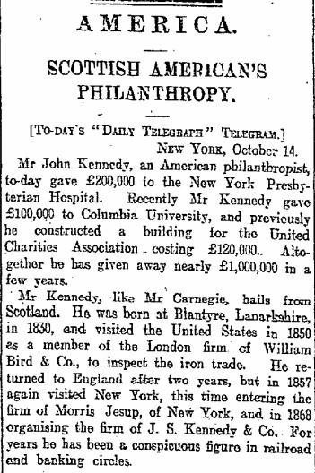 philanthropist