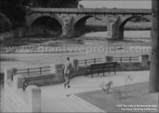1939 The Lido at Bothwell Bridge