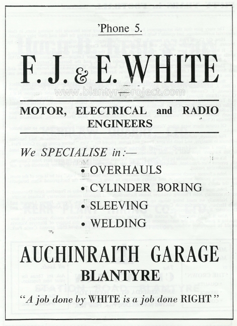 1950 Auch Garage advert wm