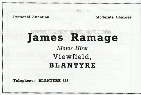 1950 James Ramage Advert wm