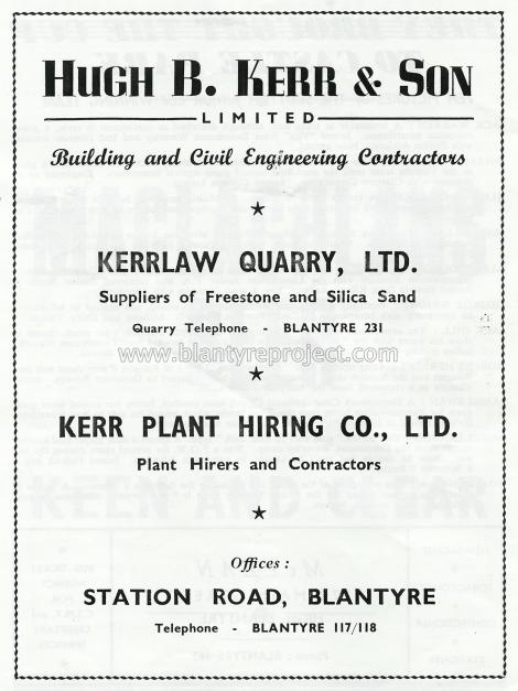 1950 Hugh b kerr advert wm