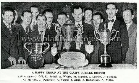 1950 Jubillee vics wm dinner