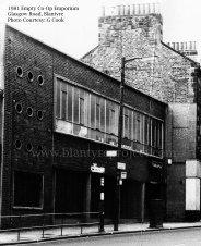 1981 Co Emporium later Clydesdale Bank