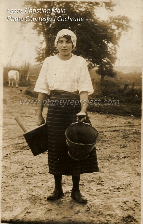 1920s-christina-main-at-udston-wm
