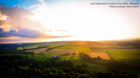 2016 September sunset by Adam Bush