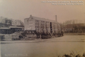 1903 Demolition of Gasworks and Powerloom Factory