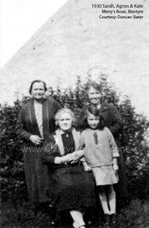 1930 Sarah Slater, Agnes and Kate