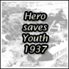 Hero saves youth 1937