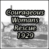 Courageous womans plucky rescue 1929