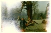 1970 Janet Duncan at Calder